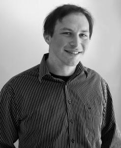 Christopher Keene Author Photo - Black And White